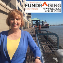 Foundation director of development attends international fundraising conference