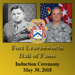 Walker, Wallace inducted into Fort Leavenworth Hall of Fame