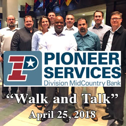 Pioneer Services leadership spends day at Fort Leavenworth