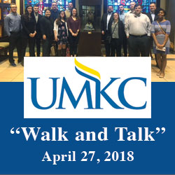UMKC students visit CGSC for Walk and Talk tour