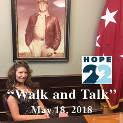 Hope 22 Project founder tours CGSC, Fort Leavenworth