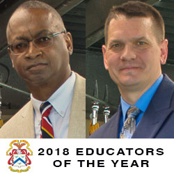 Educators of the Year are Persons of the Month – July 2018