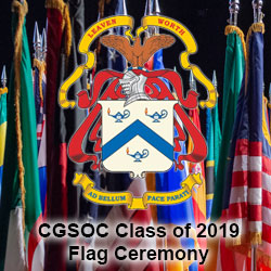 Class of 2019 opens with International Flag Ceremony
