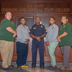 CGSC Security Staff are 'Persons of the Month' – August 2018