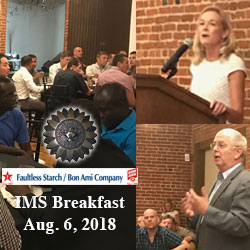 Local business hosts breakfast tour for 2019 class of international students