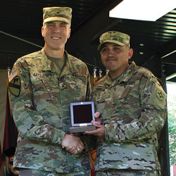Florida Guardsman earns CGSC's Pershing Award