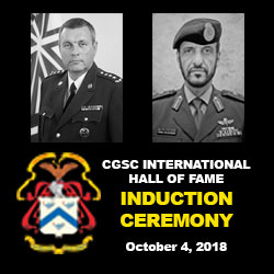 International Hall of Fame induction ceremony – Oct. 4