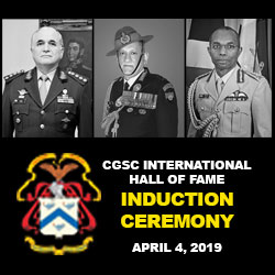 International Hall of Fame Induction – April 4
