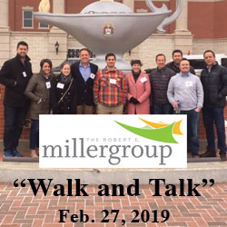 Foundation hosts 'Walk and Talk' for Miller Group