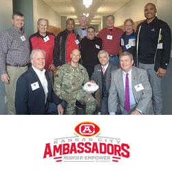 Chiefs Ambassadors visit CGSC