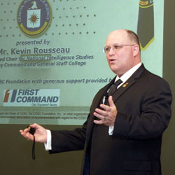 CIA subject of latest InterAgency Brown-Bag Lecture