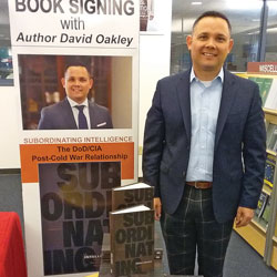 SAMS alum, NDU professor conducts book signing