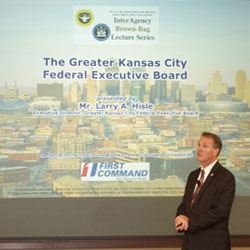 KC Federal Executive Board leader presents at CGSC
