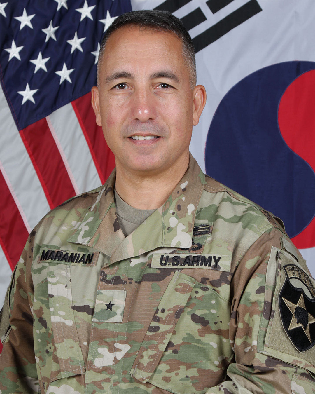 Photo of Brig. Gen. Stephen J. Maranian taken when he was the deputy commanding general for maneuver for the 2nd Infantry Division in Korea.