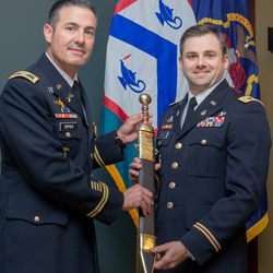 Civil Affairs officer receives top SOF student award