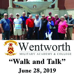 Wentworth Military Academy alumni tour CGSC