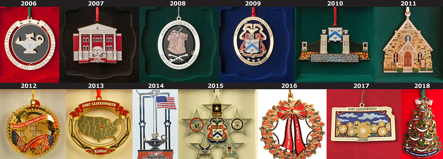 full collection of Foundation ornaments - 2006-2018