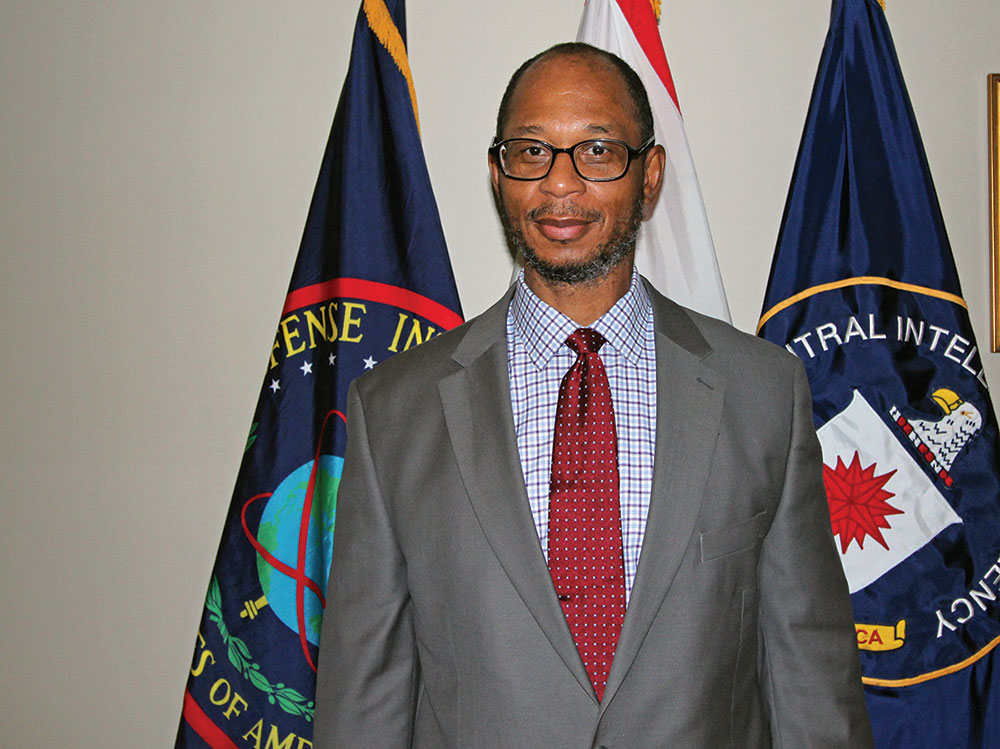 Photo of Roderic Jackson, the Commandant's Distinguished Chair for Defense Intelligence Studies at the Command and General Staff College, and the Defense Intelligence Agency (DIA) representative to the Combined Arms Center/Army University.