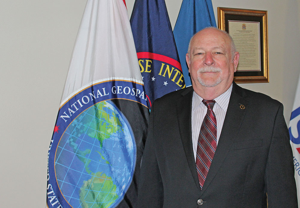 Photo of Ralph M. Erwin, the National Geospatial-Intelligence Agency (NGA) Visiting Associate Professor to the U.S. Army Command and General Staff College.