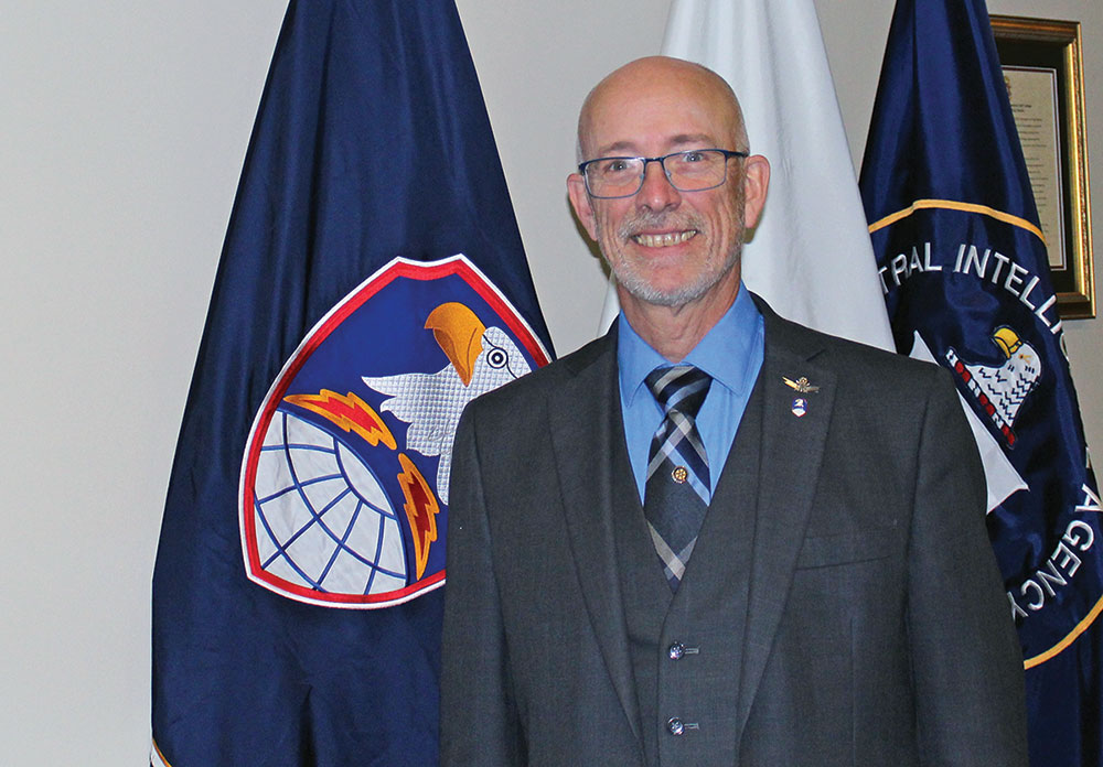 Photo of Thomas Gray, the liaison and assistant professor from U.S. Army Space and Missile Defense Command to the Combined Arms Center/Army University for Space and Missile Defense Studies.