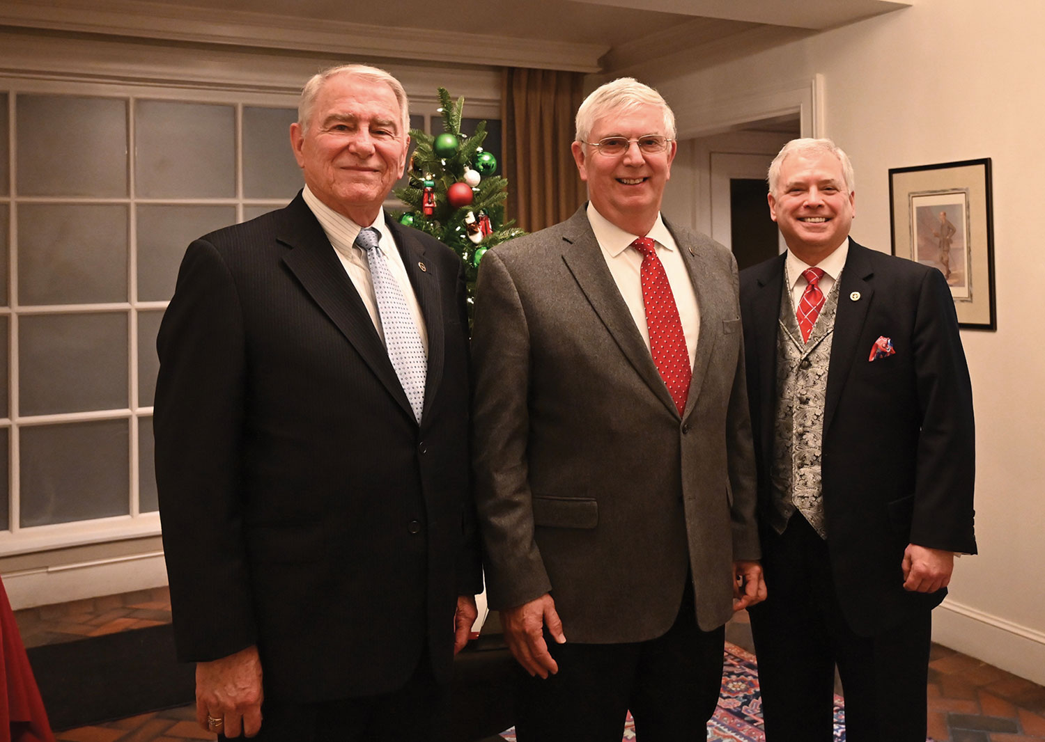 From left: Founding CEO Col. (Ret.) Bob Ulin, the second CEO Col. (Ret.) Doug Tystad, and the current President/CEO Col. (Ret.) Rod Cox.
