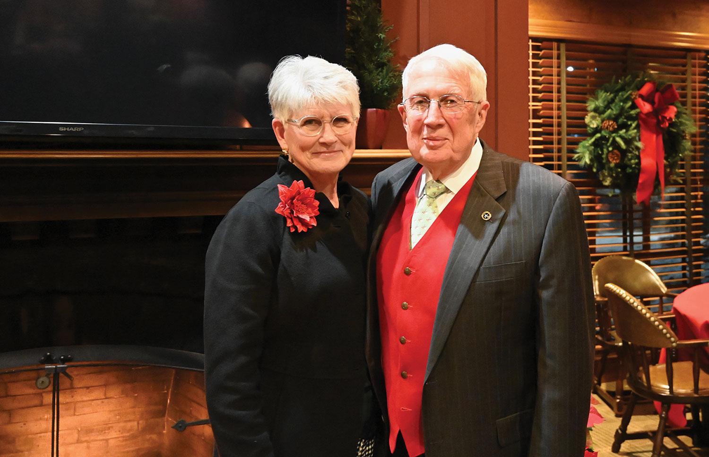 CGSC Foundation Chairman Emeritus Lt. Gen. (Ret.) John Miller and wife Joan.