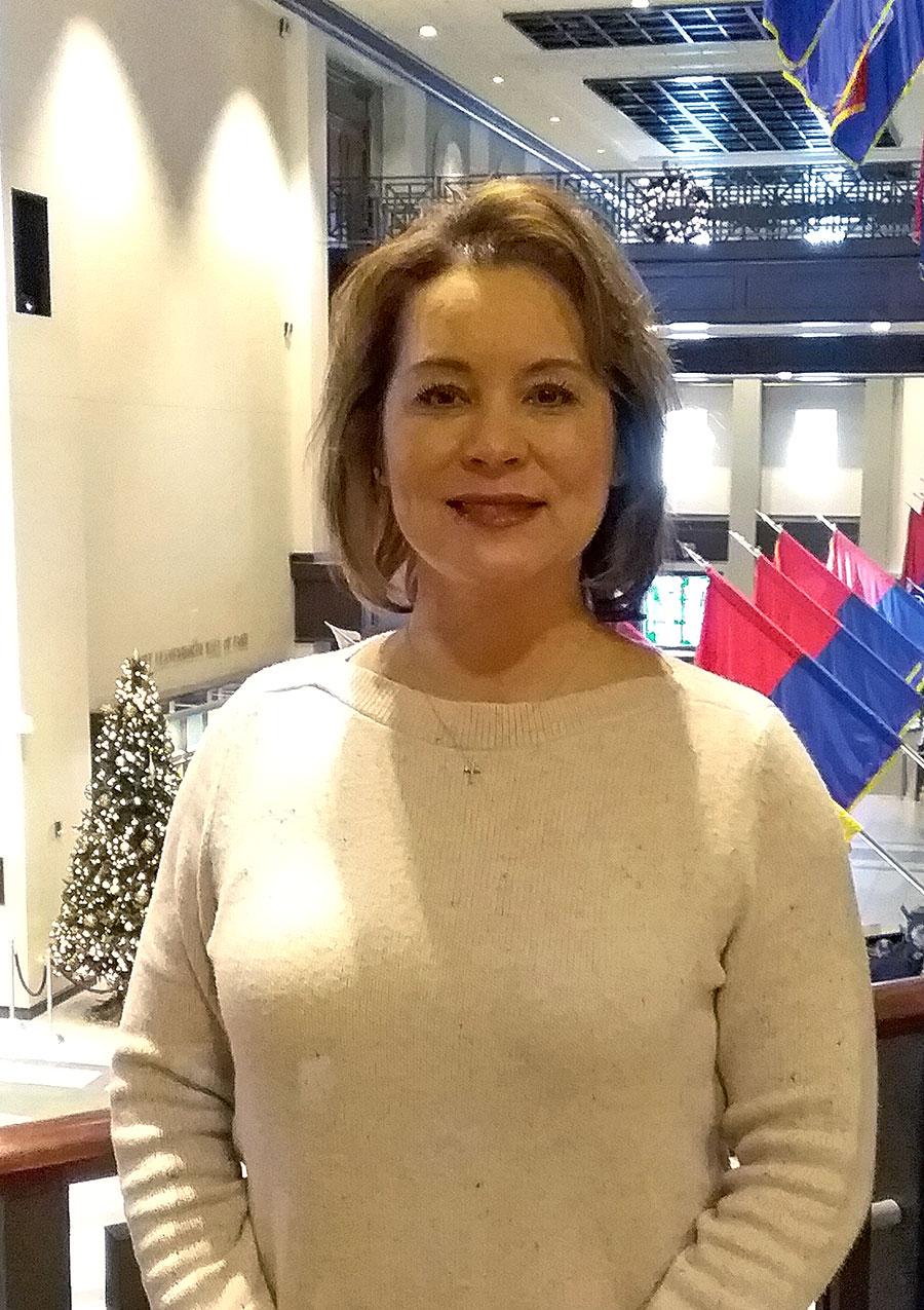 Monique GK Guerrero, director of the Command and General Staff School's Interagency Directorate