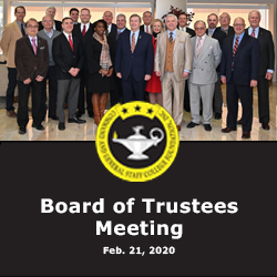 Foundation conducts first board meeting of 2020