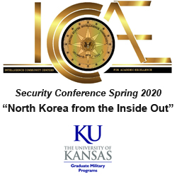 ICCAE KU Spring Conference logo composite with text