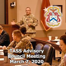 CGSC leaders host TASS Advisory Council Meeting