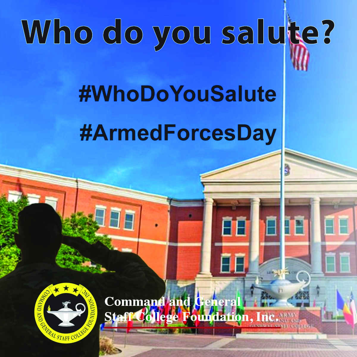 Armed Forces Day: Who Do You Salute?
