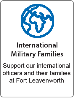 International Military Families donation description - Support our international officers and their families at Fort Leavenworth