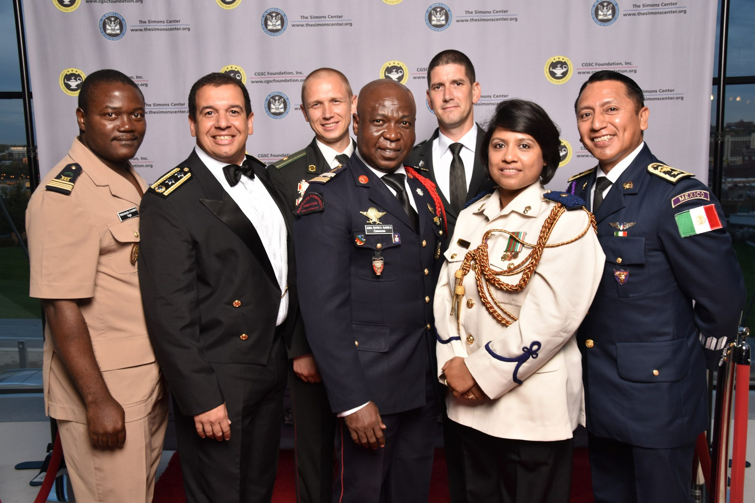 International Military Officers at the 2016 Celebration of International Friendship