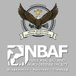 NBAF topic of inaugural Arter-Rowland National Security Forum