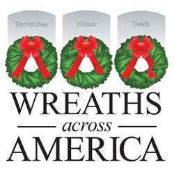 Sponsor a holiday wreath in honor of a veteran