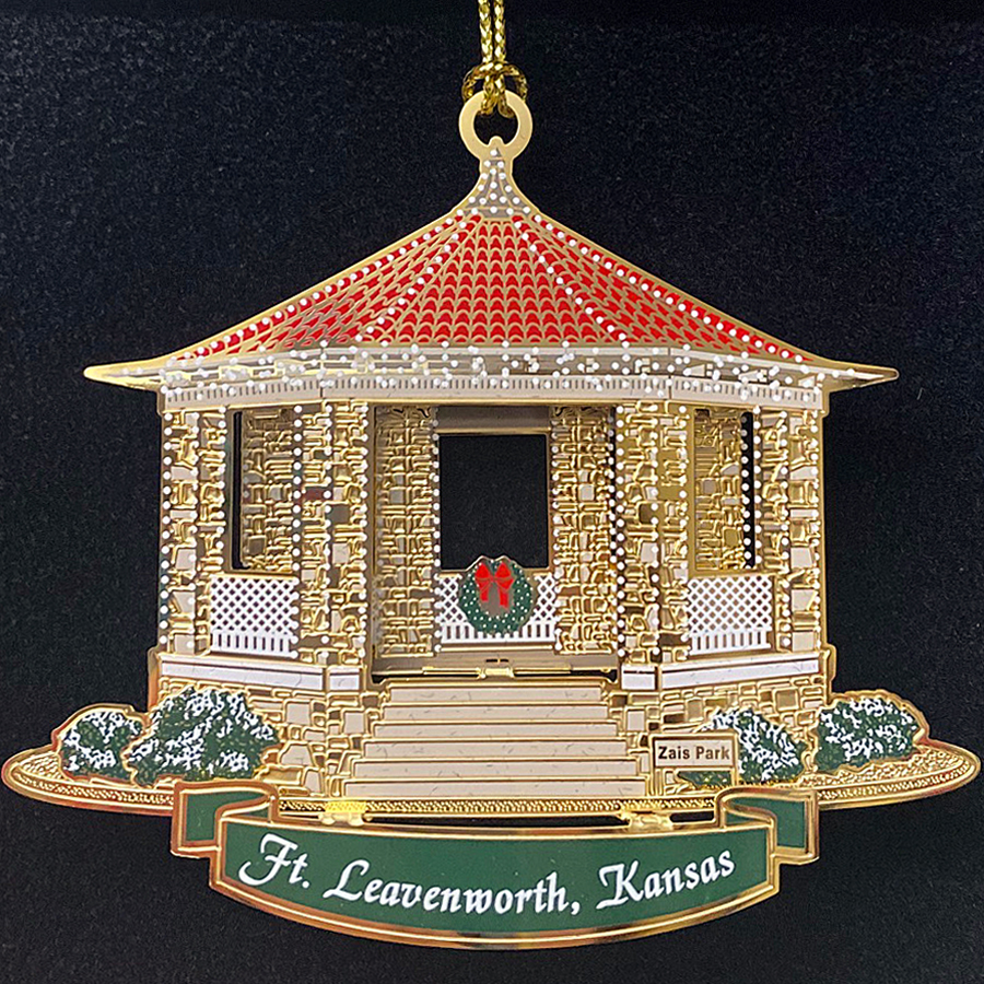 2020 Foundation Holiday Ornament - Zais Park Gazebo