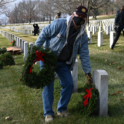 Foundation wraps up 2020 participation in Wreaths Across America