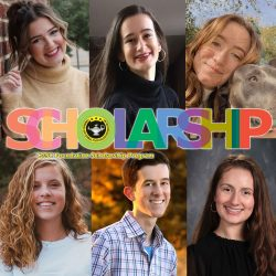 2021 CGSCF Scholarship Program winners composite image