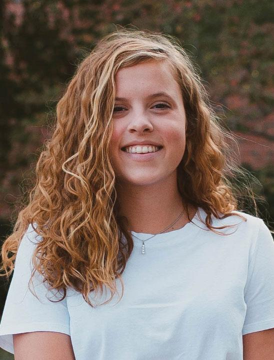 Jillian Krysa, 2021 CGSCF Scholarship winner