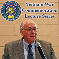 CGSC Professor Emeritus Dr. James H. Willbanks presents Vietnam lecture