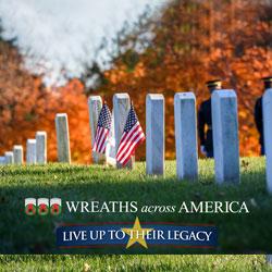 Wreaths Across America theme image
