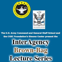 Interagency Brown-Bag Lecture to focus on space and interagency operations  – Sept. 21